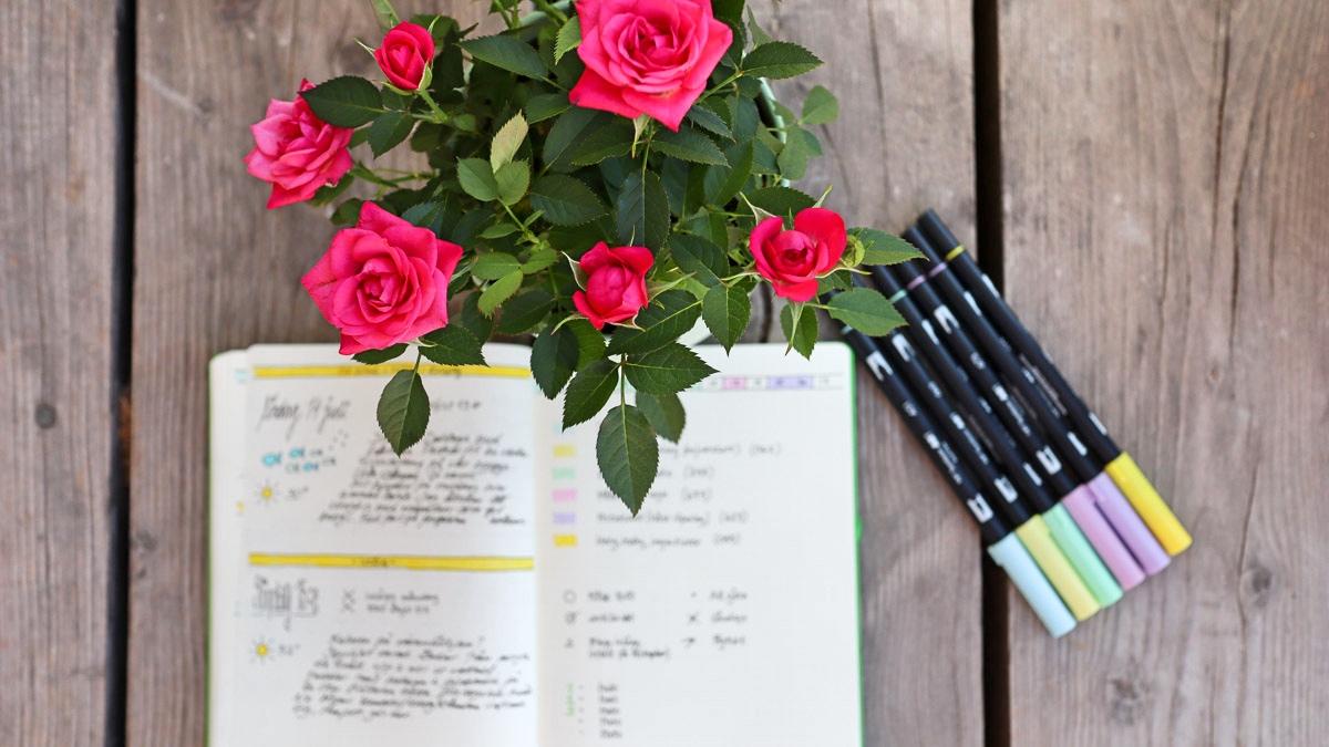 Bullet journal – dagsplan eller dagbok?