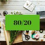80/20-regeln - Ekonomisk PT Kicki Westerberg