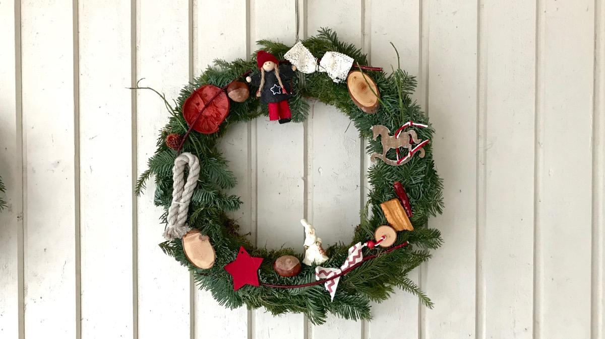 Söndag – lös & ledig och en och annan julkrans 🎄