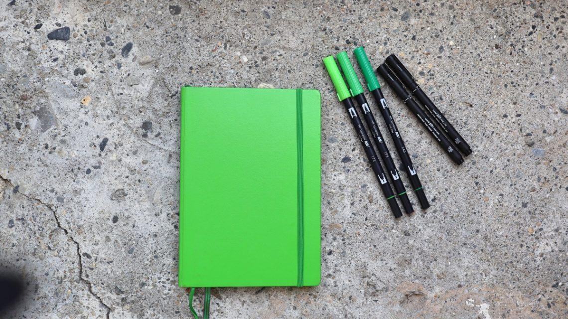 bullet journal september minimalistic